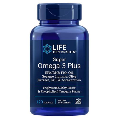 Life Extension Super Omega-3 Plus - 120 softgels