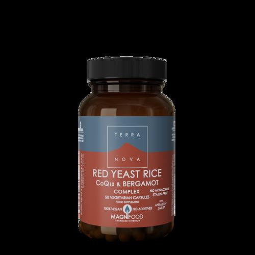 Terranova Red Yeast Rice, CoQ10 & Bergamot Complex - 50 capsules