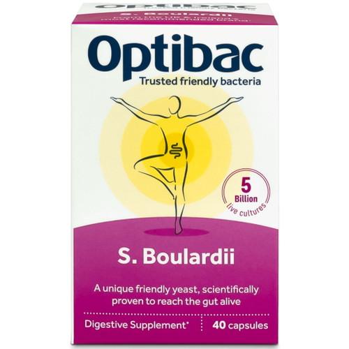 Optibac S. Boulardii - 40 capsules