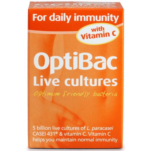Optibac For Daily Immunity - 30 capsules