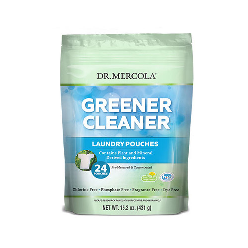 Dr Mercola Greener Cleaner Laundry Pouches (24)
