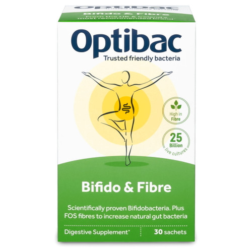 Optibac Bifido and Fibre - 30 sachets