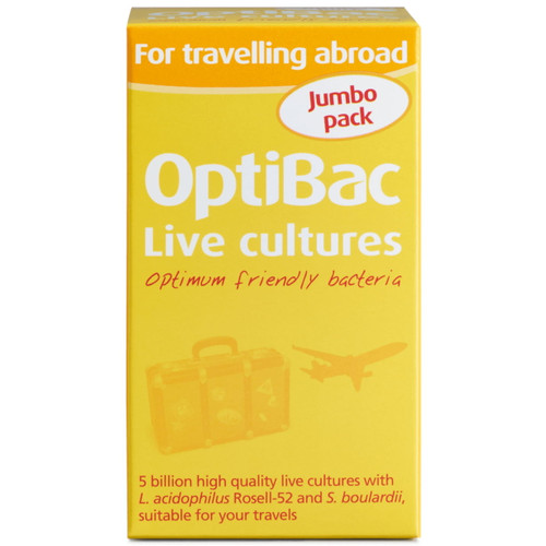 Optibac For Travelling Abroad - 60 capsules