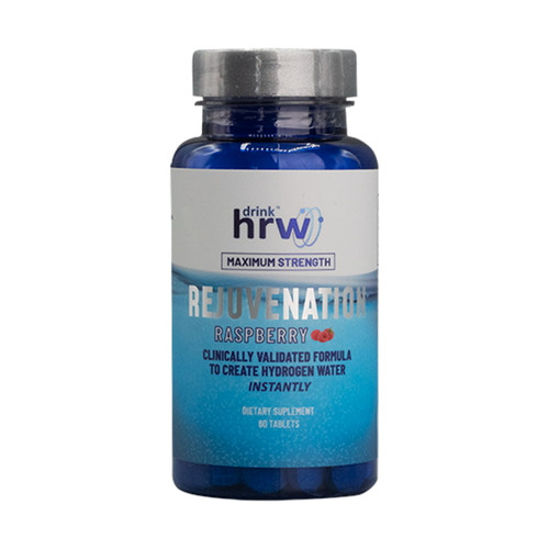 Drink HRW Rejuvenation H2 (Hydrogen) Raspberry - 60 Tablets