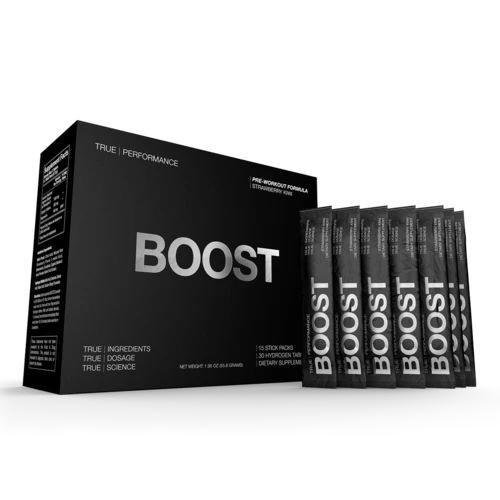 Drink HRW True Boost Pre-workout - 15 stick packs