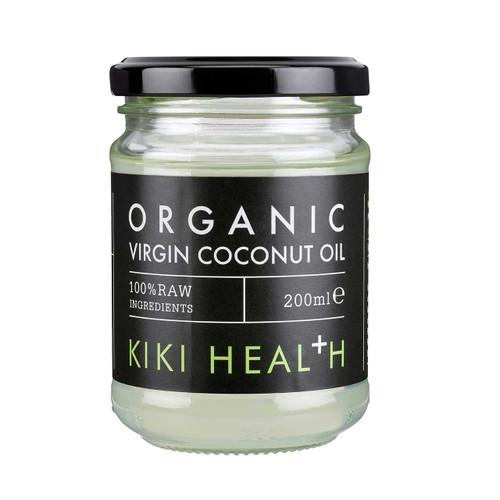 Kiki Health Organic Raw Virgin Coconut Oil - 200ml