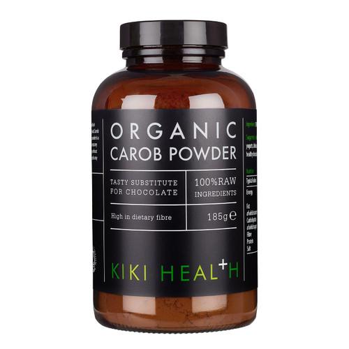 Kiki Health Organic Carob Powder - 185g