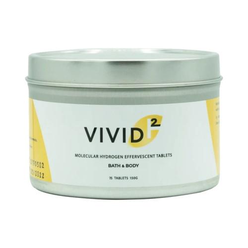 Vivid H2 Hydrogen Bath Tablets - 50 tablets
