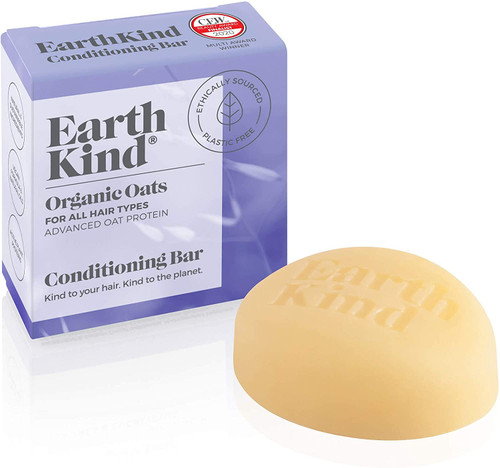Earth Kind Organic Oats Conditioning Bar (All Hair Types) - 50g