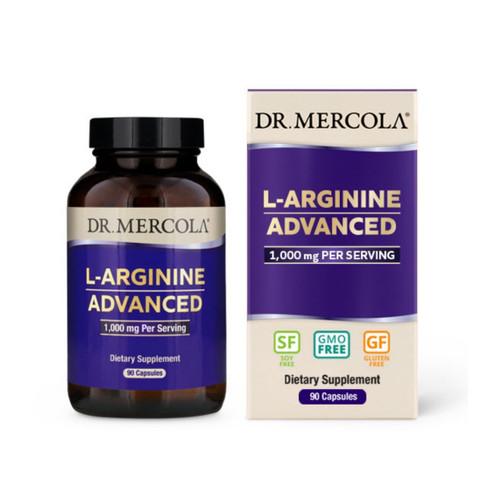 Dr Mercola L-Arginine Advanced (Cardio Support) - 90 capsules