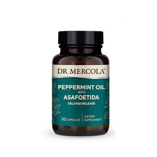 Dr Mercola Peppermint and Asafoetida - 30 capsules