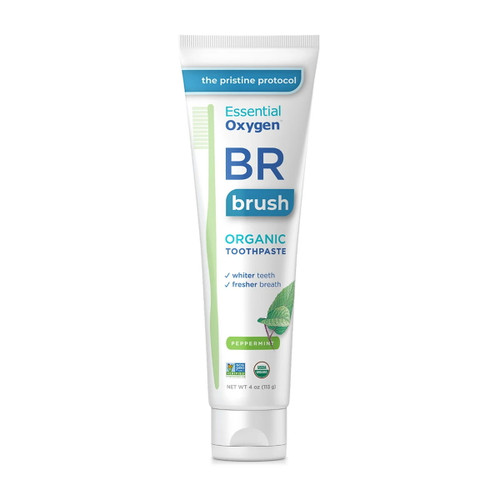 Essential Oxygen BR Organic Toothpaste (Peppermint) - 113g