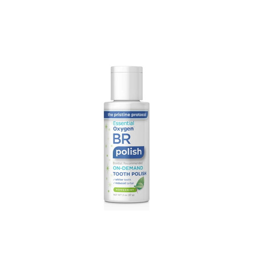 Essential Oxygen BR On-Demand Tooth Polish (Peppermint) - 57g