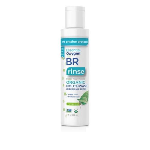 Essential Oxygen BR Organic Mouthwash (Peppermint) - 88ml
