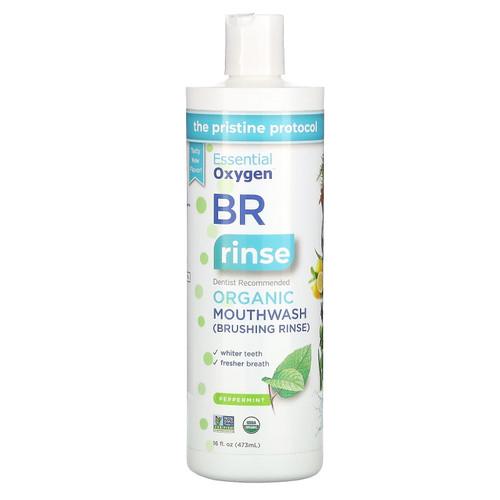 Essential Oxygen BR Organic Mouthwash (Peppermint) - 473ml