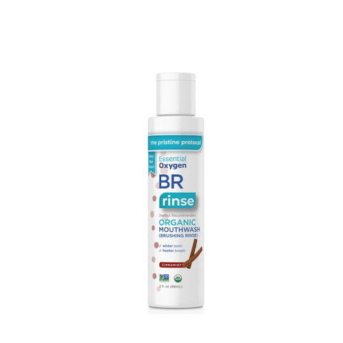 Essential Oxygen BR Organic Mouthwash (Cinnamint) - 88ml