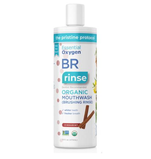 Essential Oxygen BR Organic Mouthwash (Cinnamint) - 473ml