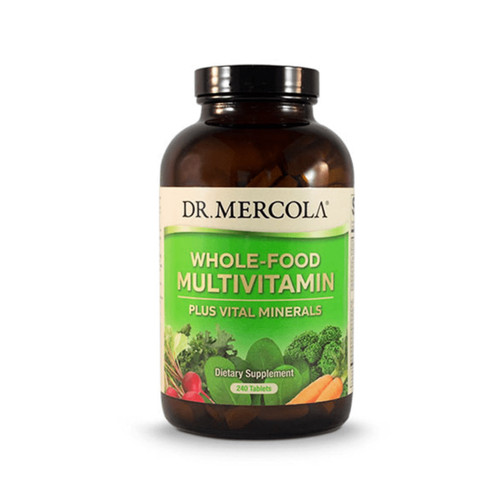 Dr Mercola MultiVitamin PLUS - 240 tablets