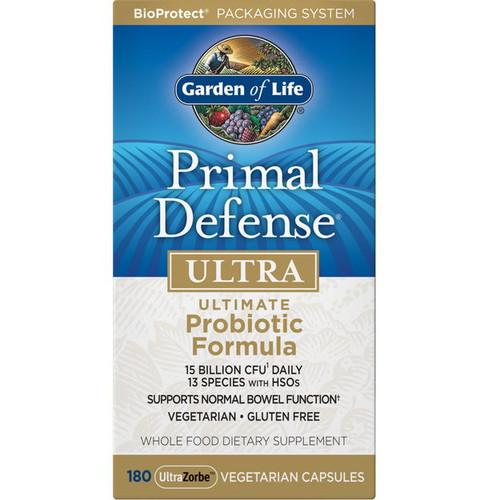 Garden of Life Primal Defense Ultra - 180 capsules
