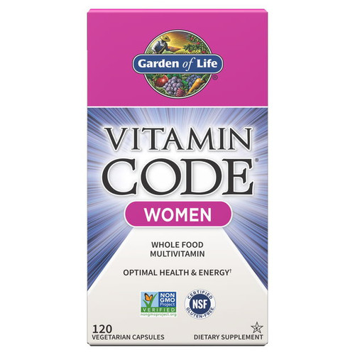 Garden of Life Vitamin Code Women - 120 capsules