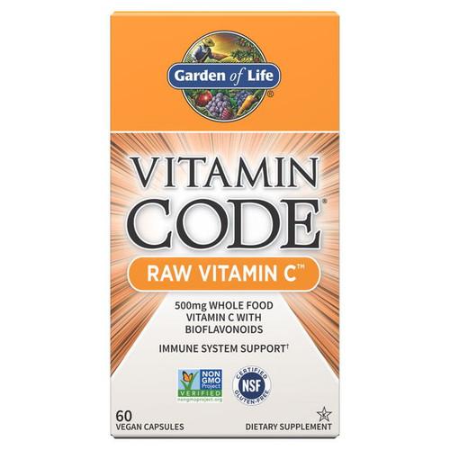 Garden of Life Vitamin Code RAW Vitamin C - 60 capsules
