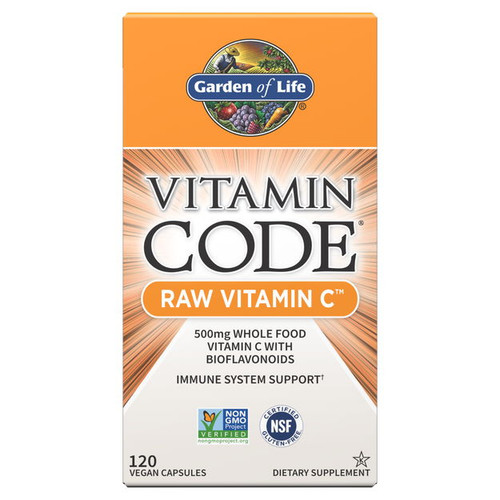 Garden of Life Vitamin Code RAW Vitamin C - 120 capsules