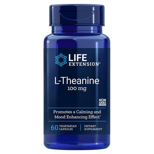 Life Extension L-Theanine 100mg - 60 capsules