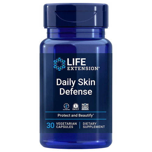 Life Extension Daily Skin Defense - 30 capsules