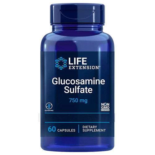 Life Extension Glucosamine Sulfate 750mg - 60 capsules