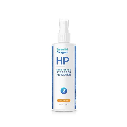Essential Oxygen HP Hydrogen Peroxide, Food Grade, 3% Spray - 237ml
