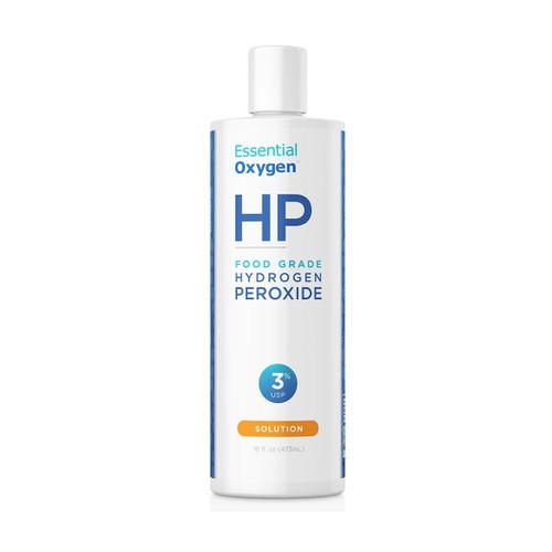 Essential Oxygen HP Hydrogen Peroxide, Food Grade, 3% - 473ml