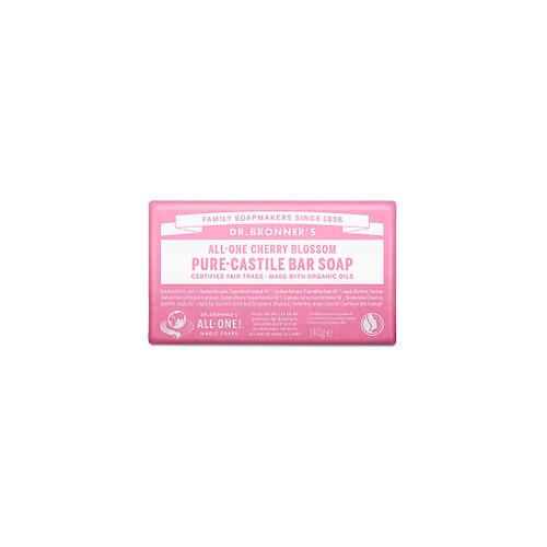 Dr Bronner's Organic Cherry Blossom Soap Bar - 140g
