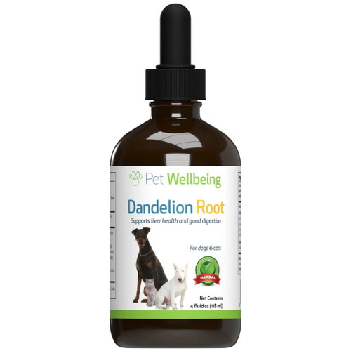 Pet Wellbeing Dandelion Root for Cats and Dogs - 118ml