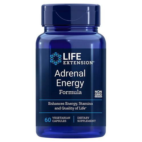Life Extension Adrenal Energy Formula - 60 capsules