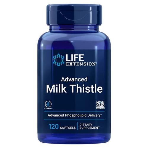Life Extension Advanced Milk Thistle - 120 softgels