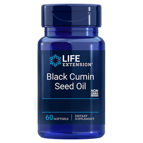 Life Extension Black Cumin Seed Oil - 60 softgels