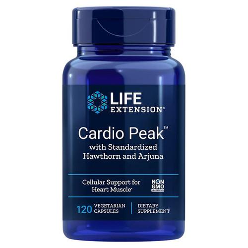 Life Extension Cardio Peak with Standardised Hawthorn & Arjuna - 120 capsules