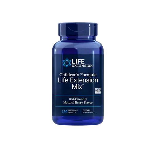 Life Extension Children's Formula Life Extension Mix (Berry Flavour) - 120 chewable tablets