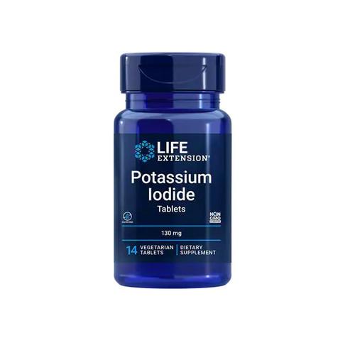 Life Extension Potassium Iodide 130mg - 14 tablets