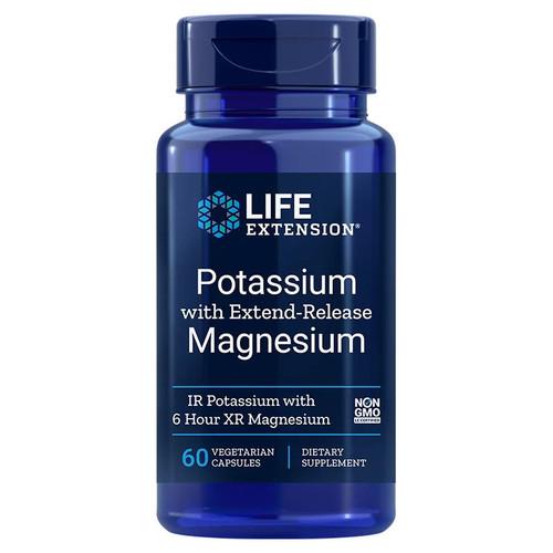 Life Extension Potassium with Extend-Release Magnesium - 60 capsules