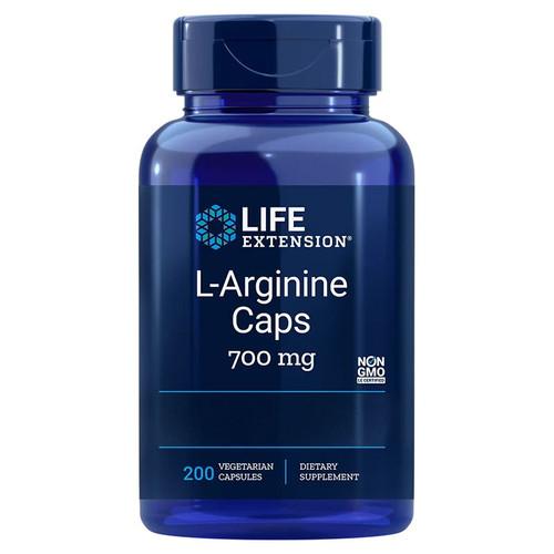 Life Extension L-Arginine 700mg - 200 capsules