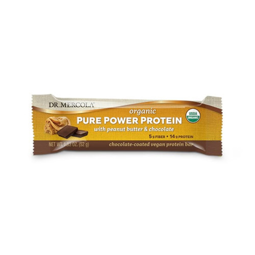 Dr Mercola Pure Power Protein Bar - 50g