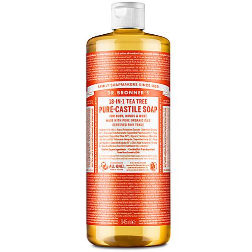 Dr Bronner's Organic Tea Tree Liquid Soap - 946ml