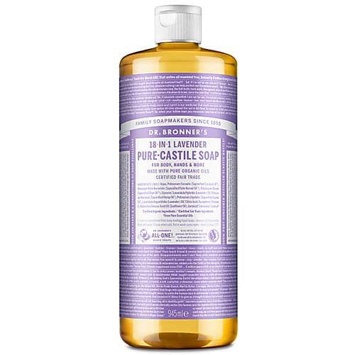 Dr Bronner's Organic Hemp Lavender Liquid Soap - 946ml