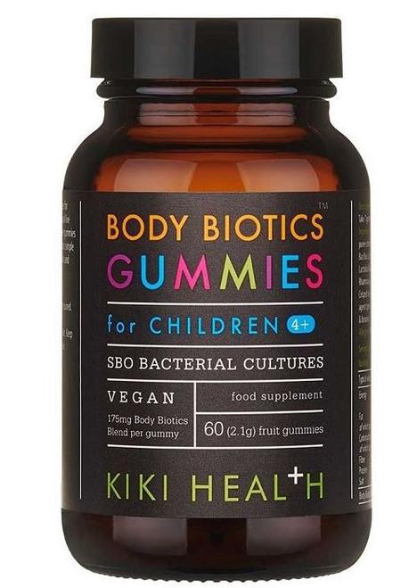 Kiki Health Body Biotics for Children - 60 Real Fruit Gummies