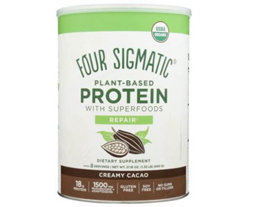 Four Sigmatic Plant Based Protein Creamy Cacao - 510g