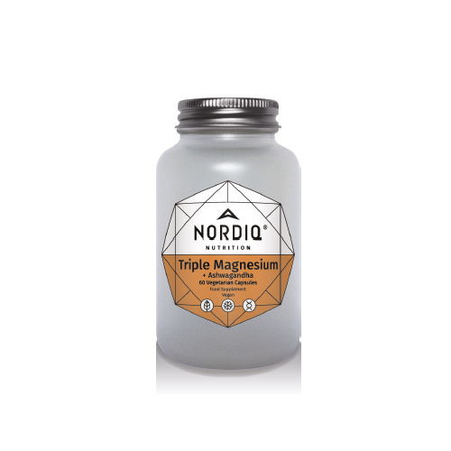 Nordiq Nutrition Triple Magnesium & Ashwagandha - 60 capsules