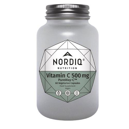 Nordiq Nutrition Vitamin C 500mg - 60 capsules