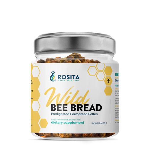 Rosita Bee Bread (Wild &  Raw Bee Pollen) - 100g