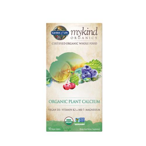Garden of Life Mykind Organics Organic Plant Calcium - 90 tablets